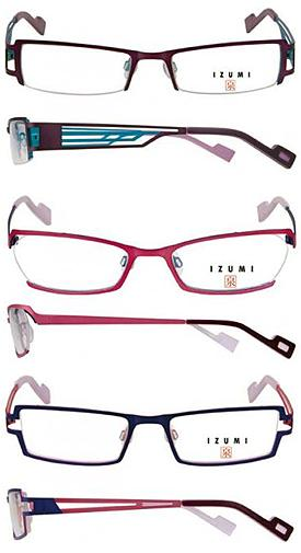 European Eyeglass Frame Manufacturers : izumi Eyeglass Collection